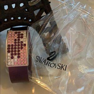 Swarovski rubber bracelet